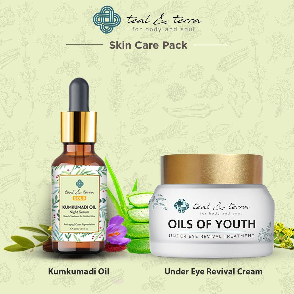 Kumkumadi Oil + Under Eye Revival Treatment