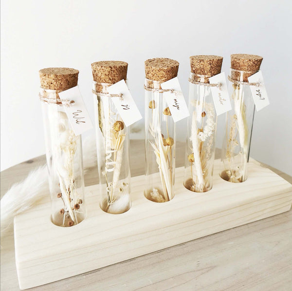DRIED FLOWER TUBES HOLDER - GODMOTHER