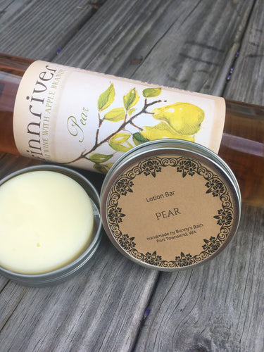 Pear Lotion Bar