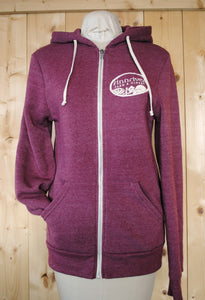 Finnriver Zip Hoodie Sweatshirt with Chicken