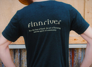 Finnriver Unisex T-shirt with Apple