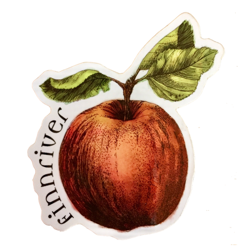 Finnriver Apple Sticker