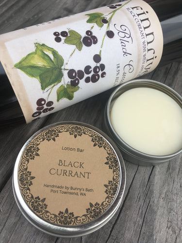 Black Currant Lotion Bar