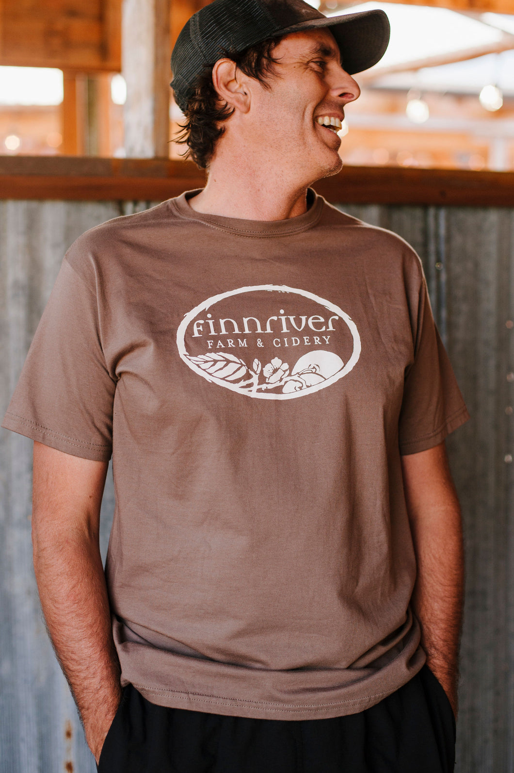 Finnriver Unisex T-shirt with Logo