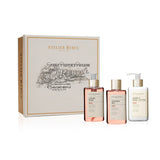 Atelier Rebul Rose Liquid Soap, Shower Gel, Hand & Body Lotion Giftset