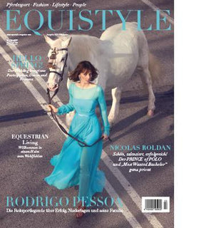Leather-framed equestrian mirrors - feature in Equistyle Magazine