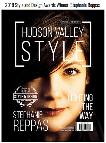 Industrial Designer Stephanie Reppas Cover Feature, Hudson Valley Style Magazine