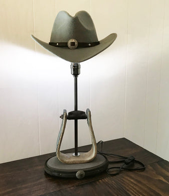 Western Stirrup Table Lamp
