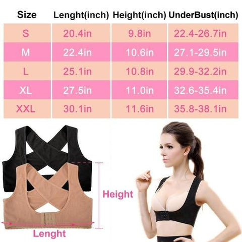 ShapeFitup Adjustable Posture Corrector for Women