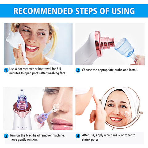 Vacuum Suction Blackhead Remover