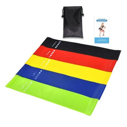 5 Pcs Resistance Bands Set for Yoga and Workout - ShapeFitup