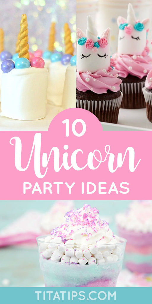 🦄 10 MAGICAL UNICORN PARTY IDEAS 🌈