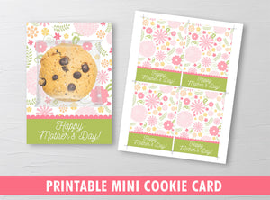 Happy Mother's Day Packaging Mini Cookies, Mom Gift Tags, INSTANT DOWNLOAD - TitaTipsPrintables