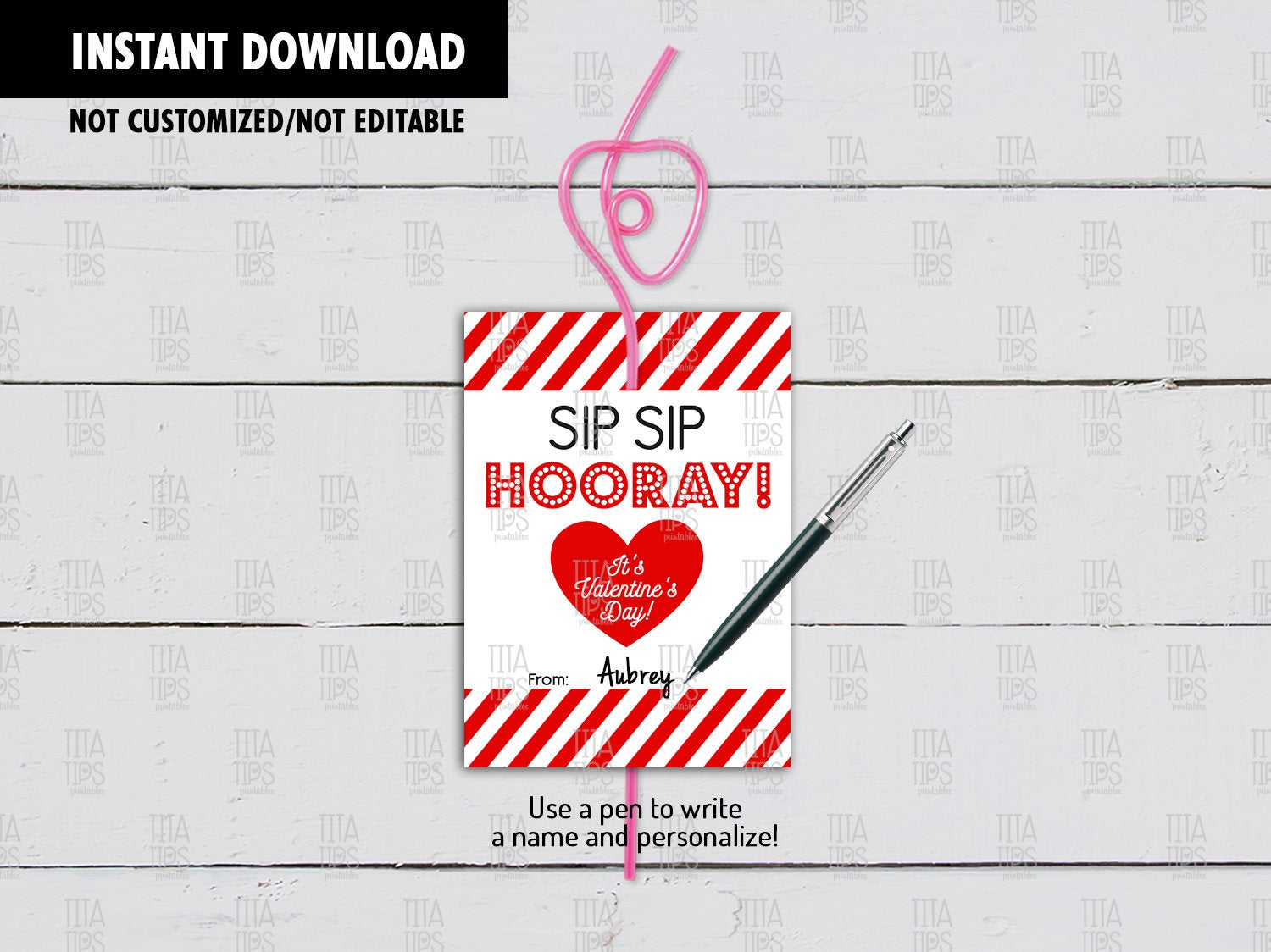 It's just a photo of Sip Sip Hooray Printable pertaining to floral