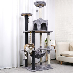 Luxury Cat Tree House By FreakNess™