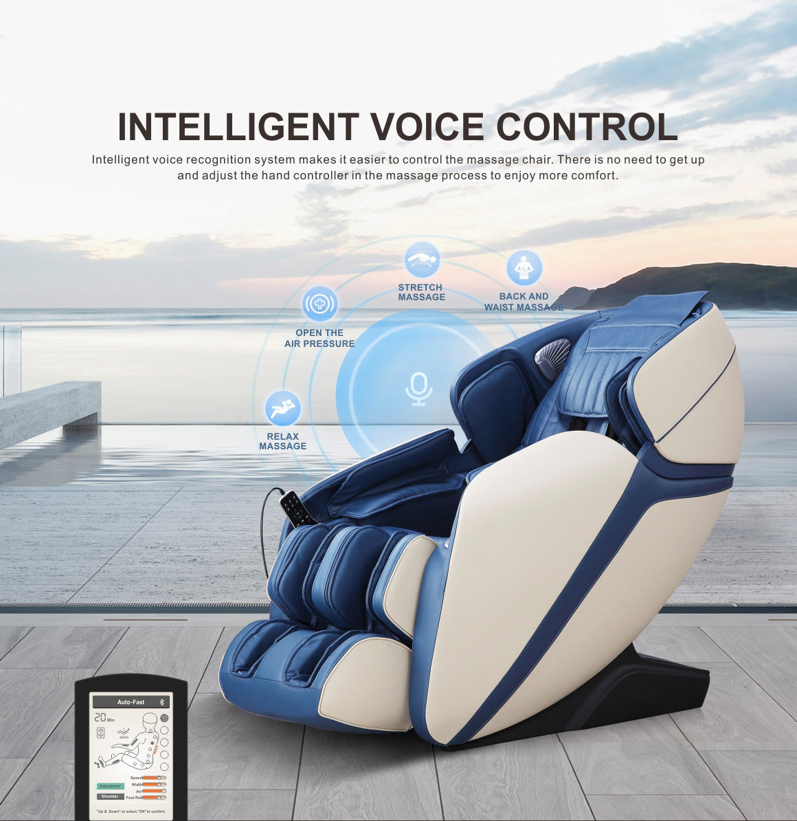 MASSAGE CHAIR (SL-A308-9)