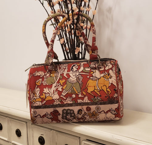 Kalamkari Duffle Bag - AVA Boutique