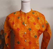 Load image into Gallery viewer, Kota Semi Silk Kurti - AVA Boutique