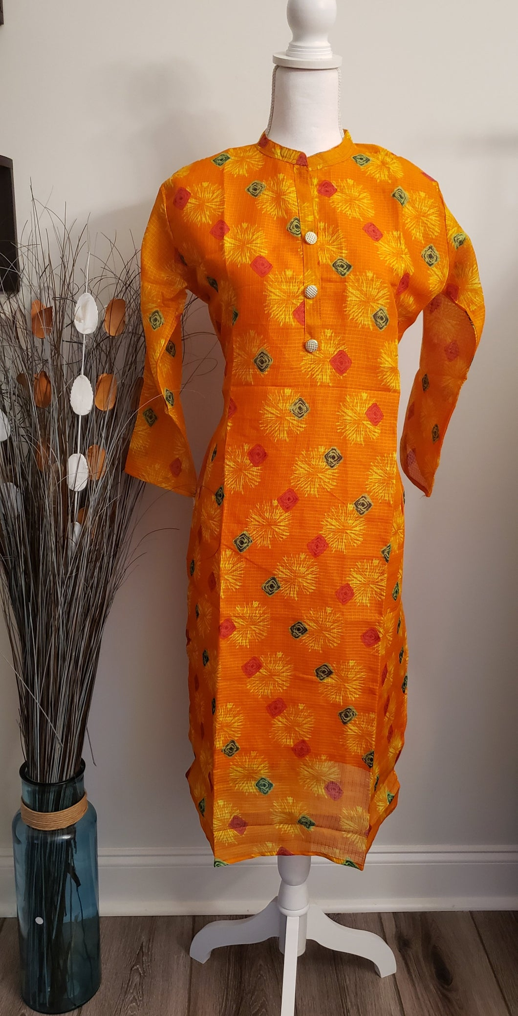 Kota Semi Silk Kurti - AVA Boutique