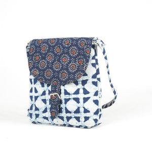 Ajrakh Sling Bag/Cross body - AVA Boutique