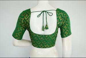 Fully Stitched Brocade Blouse