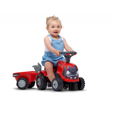 Image of Falk Case IH Baby Ride-On met accessoires