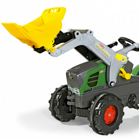 Image of Fendt 211 met lader