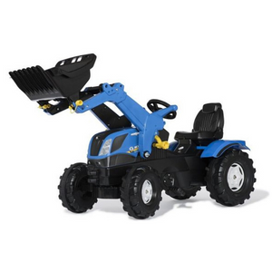New Holland met lader