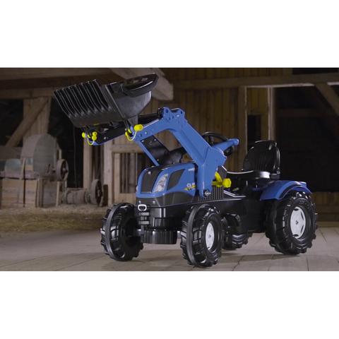 Image of New Holland met lader