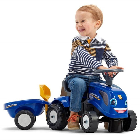 Image of New Holland Baby Ride-On met accessoires