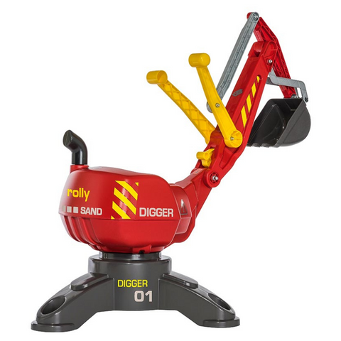 Rollydigger Graafmachine Rood