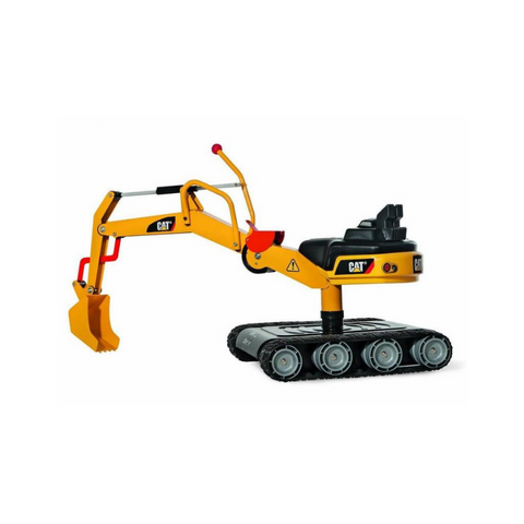 Rolly Toys graafmachine RollyDigger XL Cat junior geel