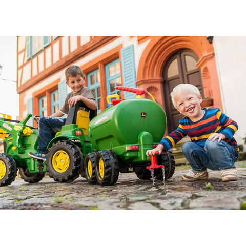 Image of John Deere giertank met Waterspuit