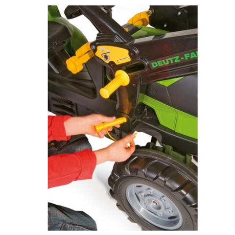 Image of Deutz-Fahr 7250 met lader