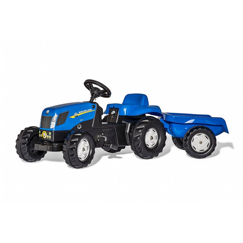 Image of New Holland RollyKid met aanhanger