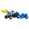 New Holland RollyKid met lader en aanhanger