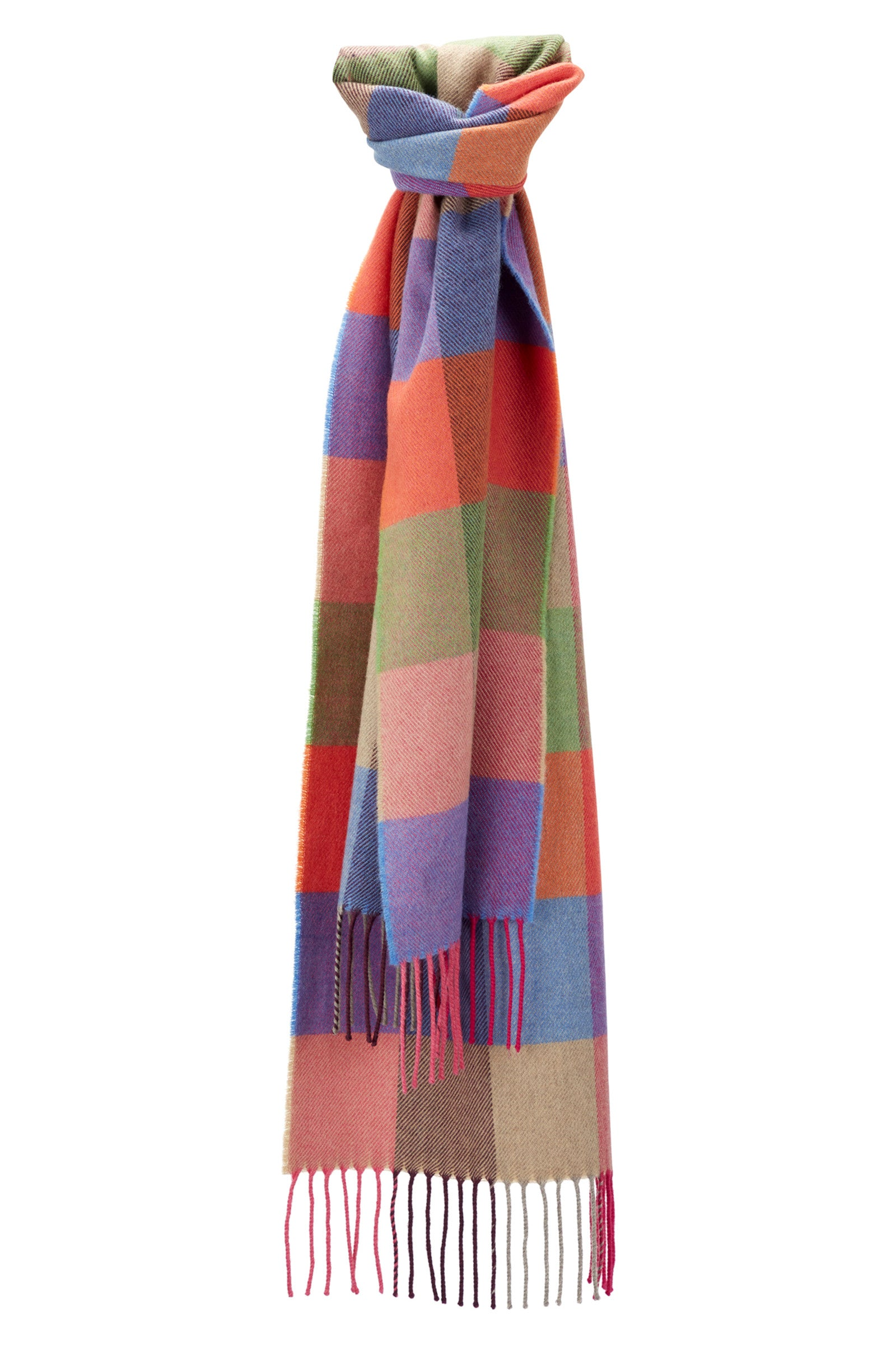 Colourful Brights Block Scarf