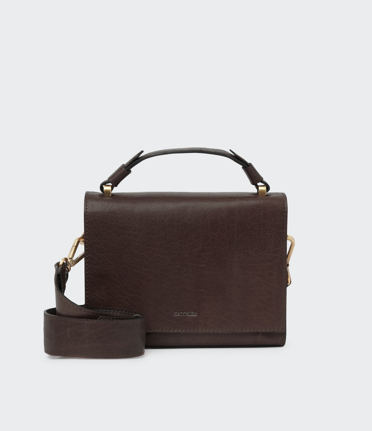 Holly - Dark Brown Handbag