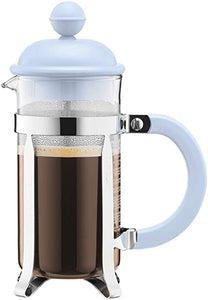 French Press Blue - Personal Size