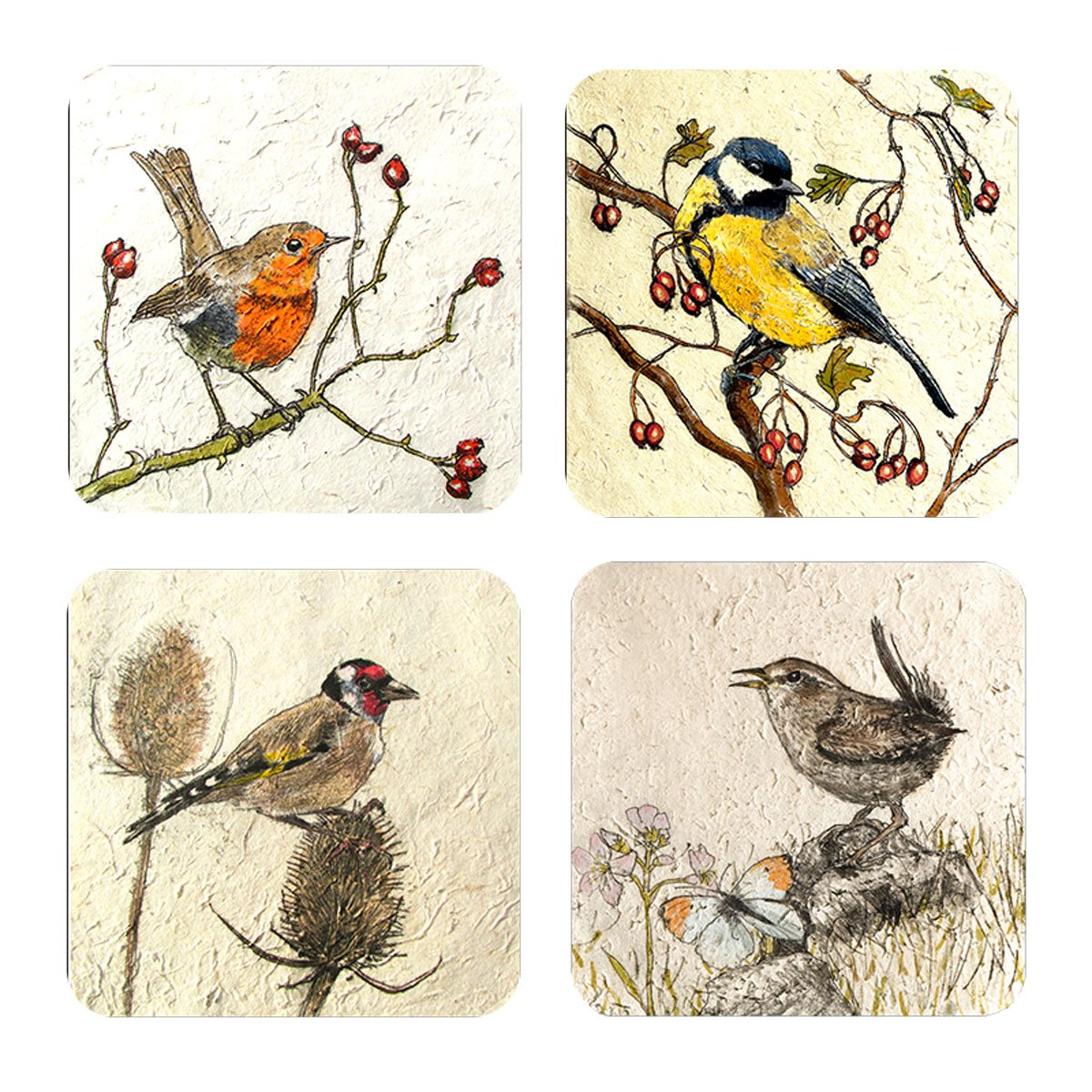 Placemat set - Birds