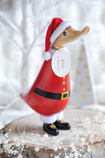 Load image into Gallery viewer, Christmas Duck - Santa