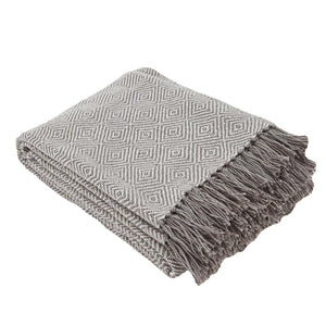 Diamond Tabby Throw