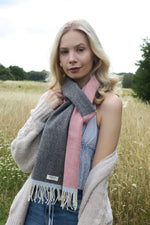 Load image into Gallery viewer, Lambswool Scarf - Helsinki