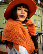 Load image into Gallery viewer, Sandie Scarf - Tangerine