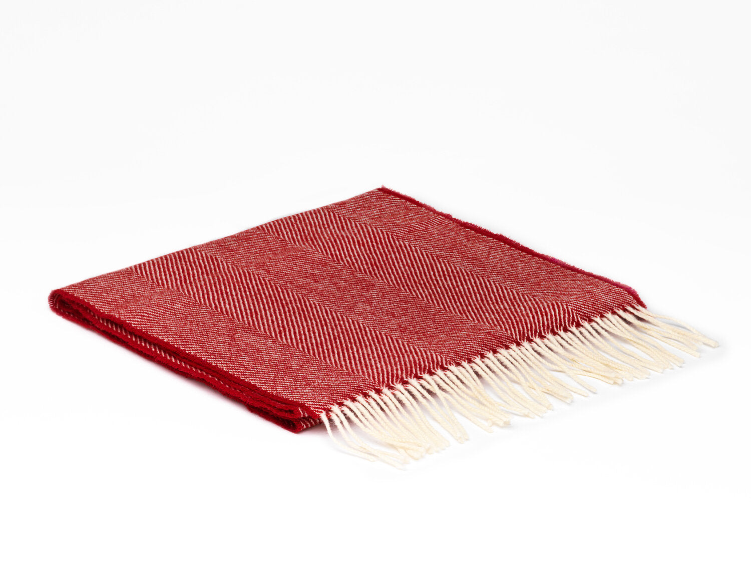 Lambwool Scarf - Bright Red