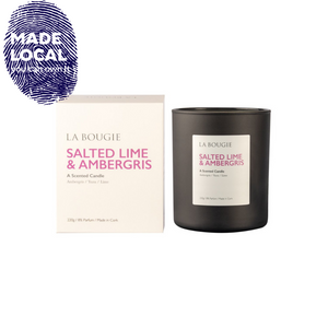 Salted Lime & Ambergris Candle