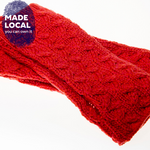 Load image into Gallery viewer, Supersoft fingerless coral mittens