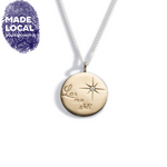 Load image into Gallery viewer, Light My Way Gold Large Pendant