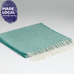 Load image into Gallery viewer, Lambswool Oval Spearmint Scarf