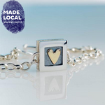Load image into Gallery viewer, Heart Of Gold Bracelet